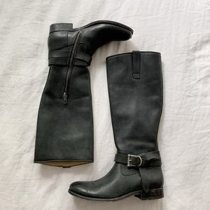 FINAL FLASH- Frye Knee-High Buckled Boot